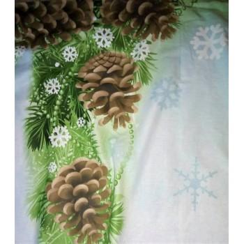 Подростковое постельное белье поплин Снеговики фото 5
