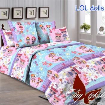 Подростковое постельное белье ранфорс с Куклами ЛОЛ