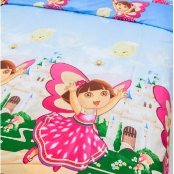 Детское постельное белье для девочки ранфорс Даша-путешественница фото 1