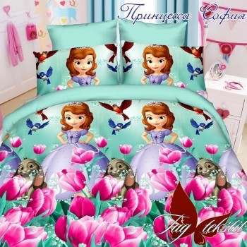 Подростковое постельное белье ранфорс Принцесса София