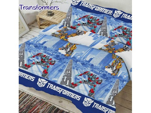Постельное белье с супергероями Трансформеры 0933 от TAG tekstil в интернет-магазине PannaTeks