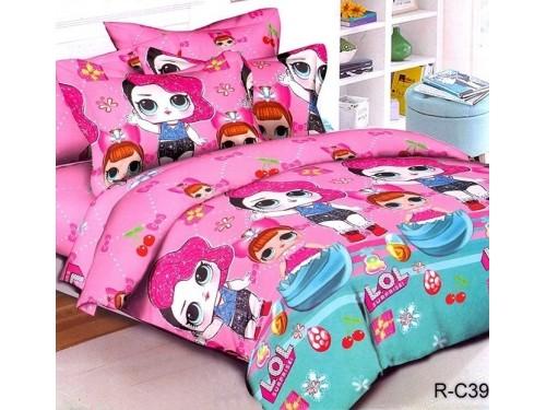 Подростковое постельное белье ранфорс Куклы ЛОЛ 0939 от TAG tekstil в интернет-магазине PannaTeks