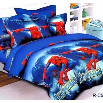 Подростковое постельное белье ранфорс Человек Паук