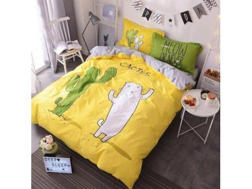 Подростковое постельное белье ранфорс Кактус 0943 от TAG tekstil в интернет-магазине PannaTeks