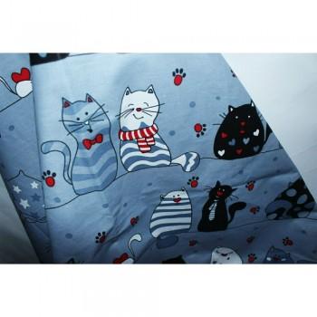Подростковое постельное белье ранфорс Кошкин Дом фото 7