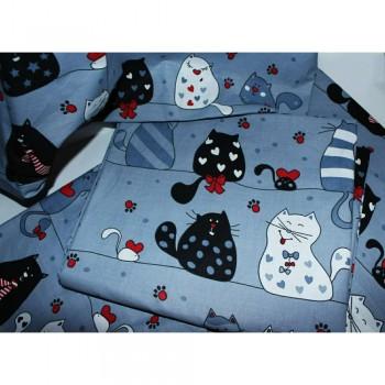 Подростковое постельное белье ранфорс Кошкин Дом фото 8