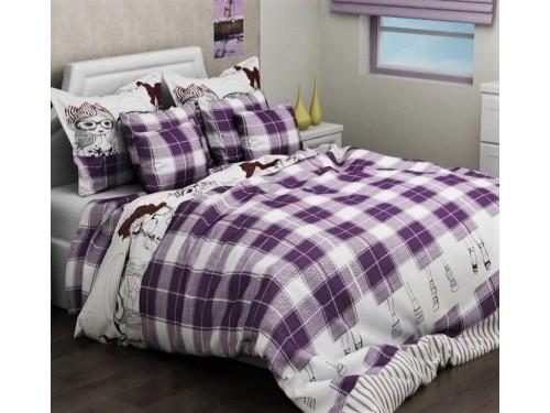 Детское постельное белье для девочки ранфорс Виолетта R2068 violet от TAG tekstil в интернет-магазине PannaTeks