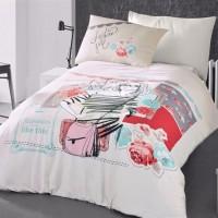 Детское постельное белье для девочки ранфорс Модница