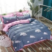 Детское постельное белье для девочки Облака ранфорс