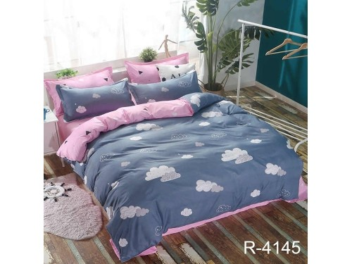 Детское постельное белье для девочки ранфорс Облака R4145 от TAG tekstil в интернет-магазине PannaTeks