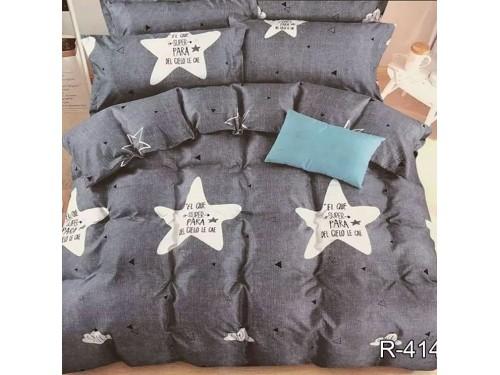 Подростковое постельное белье ранфорс Серые Звезды R4147 от TAG tekstil в интернет-магазине PannaTeks