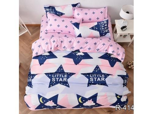 Подростковое постельное белье ранфорс Звезды Little Star R4148 от TAG tekstil в интернет-магазине PannaTeks