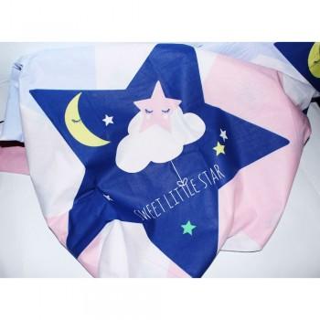 Подростковое постельное белье ранфорс Звезды Little Star фото 1