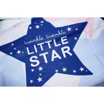 Подростковое постельное белье ранфорс Звезды Little Star фото 2