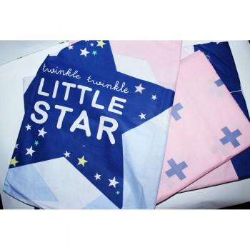 Подростковое постельное белье ранфорс Звезды Little Star фото 3