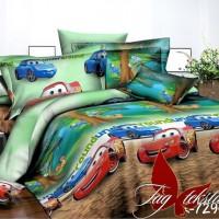 Детская постель с машинками Веселые Тачки