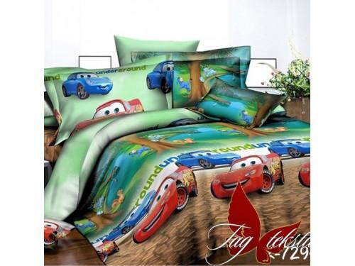 Детское постельное белье для мальчика ранфорс Веселые Тачки R7294 от TAG tekstil в интернет-магазине PannaTeks