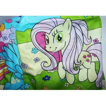 Детское постельное белье поплин Пони фото 3