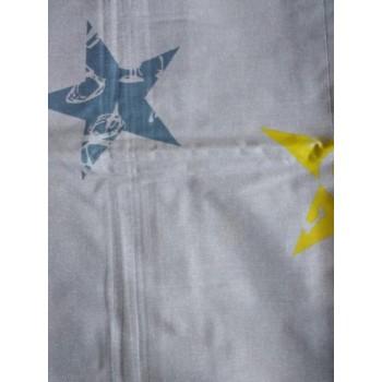 Подростковое постельное белье ранфорс Звезды с Буквами фото 2