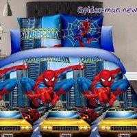 Детское постельное белье ранфорс Человек Паук (Spider-man)