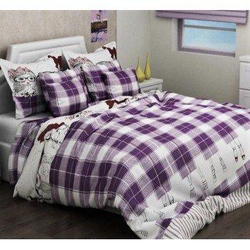 Детское постельное белье для девочки ранфорс Виолетта