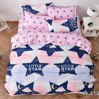 Подростковое постельное белье ранфорс Звезды Little Star