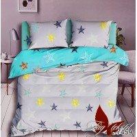 Подростковое постельное белье ранфорс Звезды с Буквами