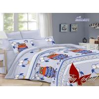 Подростковое постельное белье поплин Филин