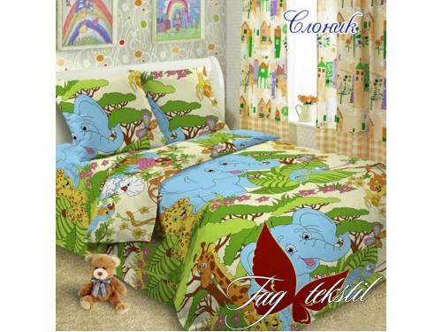 Детское постельное белье поплин Слоник Слоник от TAG tekstil в интернет-магазине PannaTeks