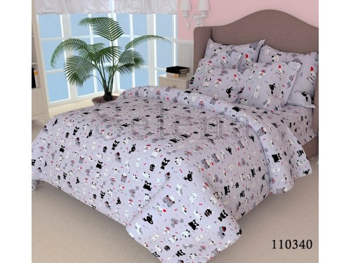 Детское постельное белье бязь Собачки 110340 от Selena в интернет-магазине PannaTeks