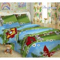 Детское постельное белье поплин Далматин