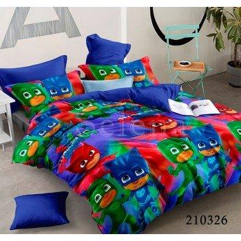 Детское постельное белье ранфорс Маски 210326 от Selena в интернет-магазине PannaTeks