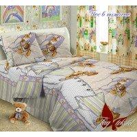 Детское постельное белье поплин Пес в пижаме