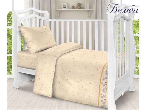 """Постельное белье в кроватку поплин """"Бемби"""" Бемби от TAG tekstil в интернет-магазине PannaTeks"""