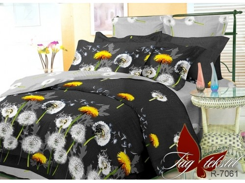 """Комплект белья с компаньоном """"Одуванчики в поле"""" R7061 от TAG tekstil в интернет-магазине PannaTeks"""
