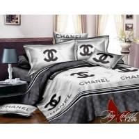 """Постельное белье с компаньоном ранфорс """"Chanel"""""""