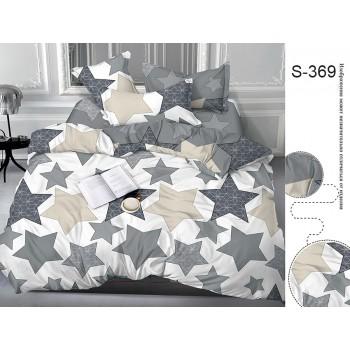 Постельное белье сатин с компаньоном S369