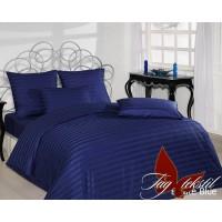 Постельное белье из страйп - сатина Estate Blue