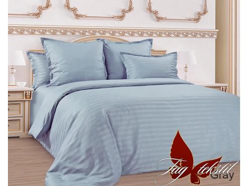 Постельное белье из страйп - сатина Gray stripe-005 от TAG tekstil в интернет-магазине PannaTeks