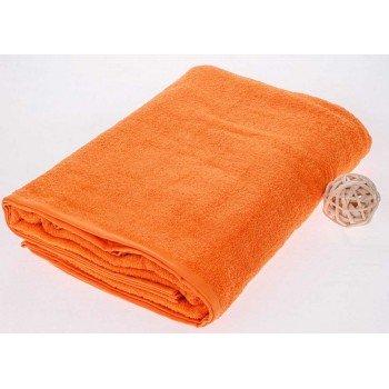 Махровая простынь покрывало Апельсин