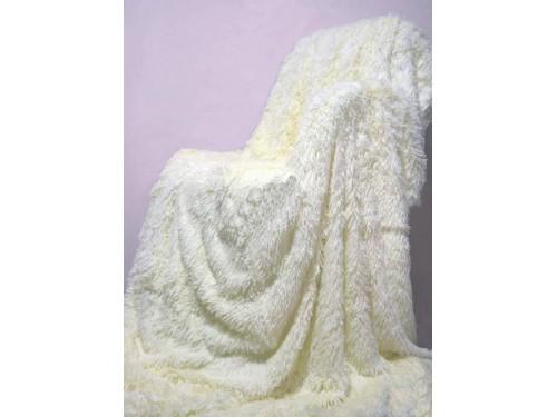 Плед покрывало травка с высоким ворсом Мишка Шампань 70023 от Koloco в интернет-магазине PannaTeks