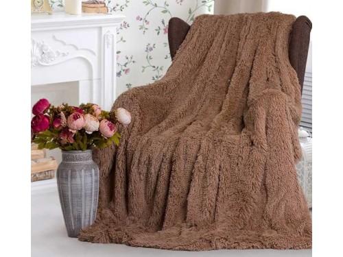 Бамбуковый плед травка Мишка Мокко 70033 от Koloco в интернет-магазине PannaTeks