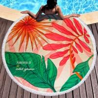 Круглое пляжное полотенце Forever