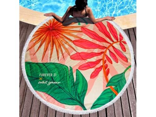 Круглое пляжное полотенце Forever 9006 от Colorful Home в интернет-магазине PannaTeks