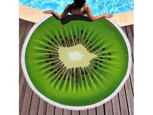 Круглое пляжное полотенце Киви 9007 от Colorful Home в интернет-магазине PannaTeks
