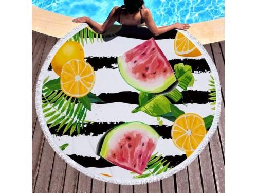 Пляжное полотенце круглое Тропико 9011 от Colorful Home в интернет-магазине PannaTeks