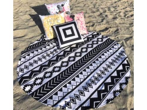Круглое пляжное полотенце Эклептика 9017 от Colorful Home в интернет-магазине PannaTeks
