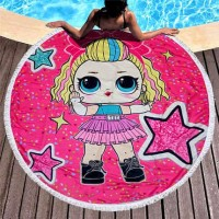 Круглое пляжное полотенце Лола