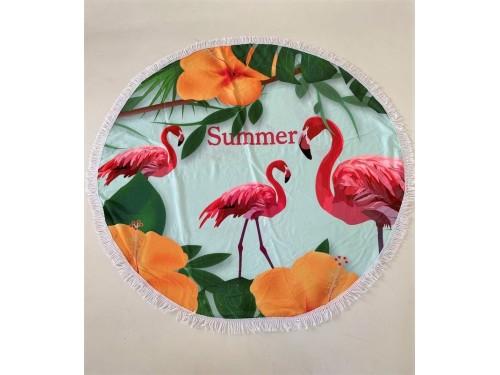 Круглое пляжное полотенце Summer 9030 от Colorful Home в интернет-магазине PannaTeks