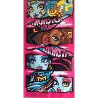 Детское полотенце пляжное Monster High (Монстер Хай)